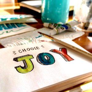 Entscheide dich für Freude!