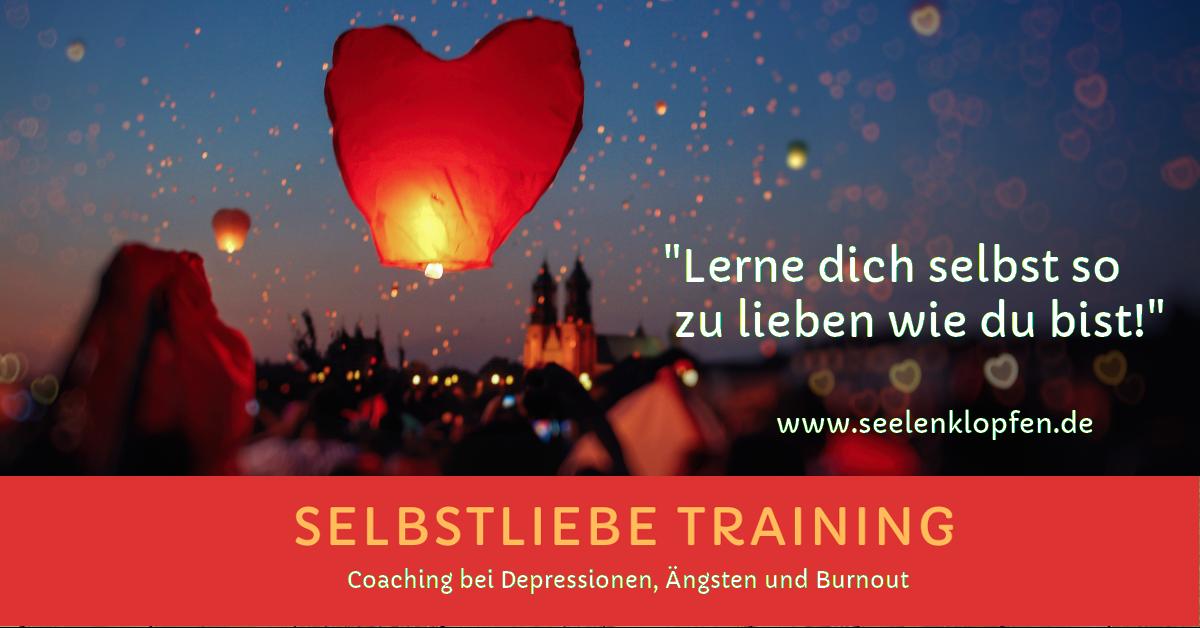 Selbstliebetraining bei Depressionen mit Sabine König