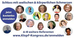 Sabine König Seelenklopfen Klopfkongress Depressionen mit Liebe überwinden